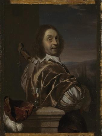 Self Portrait with a Cittern, 1674