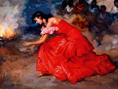 The Fire Dance by Fransisco R S Clemente