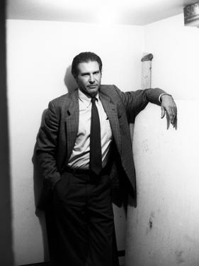 FRANTIC, 1988 directed by ROMAN POLANSKI Harrison Ford (b/w photo)