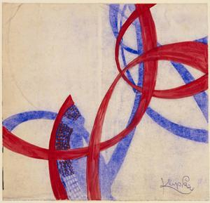 Amorpha Fugue in Two Colors II by Frantisek Kupka