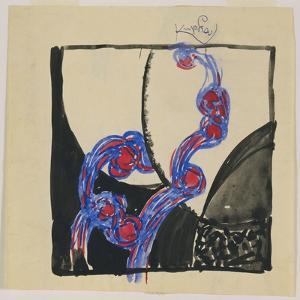 Amorpha Fugue in Two Colors V by Frantisek Kupka