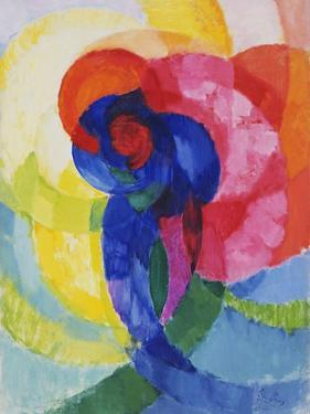 Red and Blue Disks by Frantisek Kupka