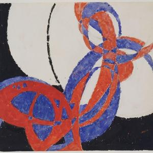 Replica of Fugue in Two Colors Amorpha, 1912 by Frantisek Kupka