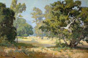 Oaks and Sycamores by Franz Bischoff