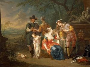Gallant Meeting by Franz Christoph Janneck
