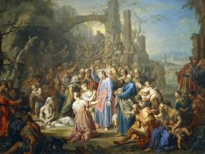 Raising of Lazarus, Circa 1750 by Franz Christoph Janneck