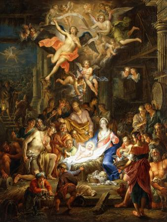 The Nativity, 1741 by Franz Christoph Janneck