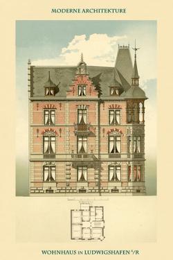 Residence in Ludwigshafen by Franz Habich