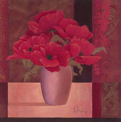 Composition in Red I by Franz Heigl