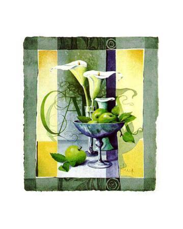 Green Apples by Franz Heigl