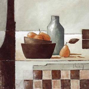 Still Life in Grey I by Franz Heigl
