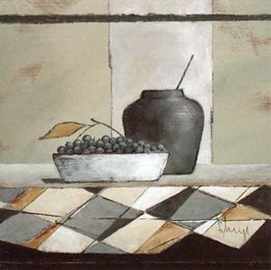 Still Life in Grey II by Franz Heigl