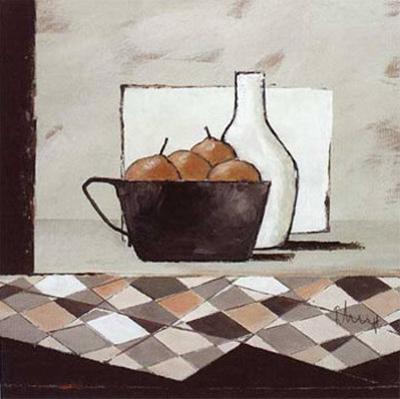 Still Life in Grey III by Franz Heigl