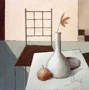 Still Life in Grey IV by Franz Heigl