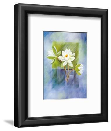 White Water Lilies by Franz Heigl