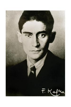 Franz Kafka (1883-1924). Czech Writer in German Language. Portrait