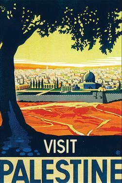 Visit Palestine by Franz Kraus