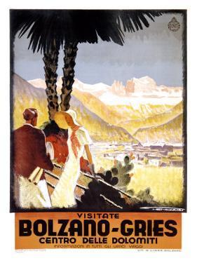 Visitate Bolzano, Gries by Franz Lenhart