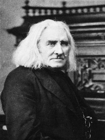 Franz Liszt, Hungarian Pianist and Composer, Late 19th Century