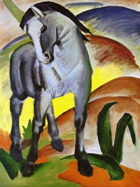 Blue Horse I by Franz Marc