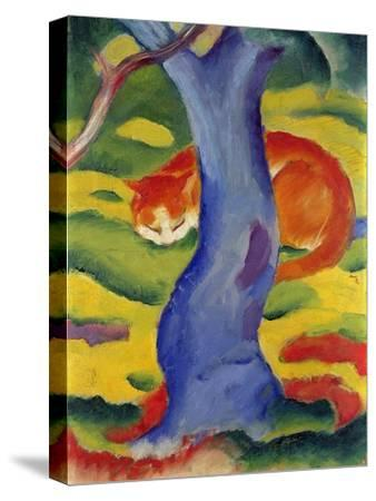 Cat Behind a Tree, 1910/11 by Franz Marc