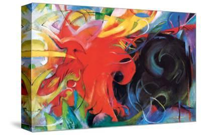 Fighting Forms by Franz Marc