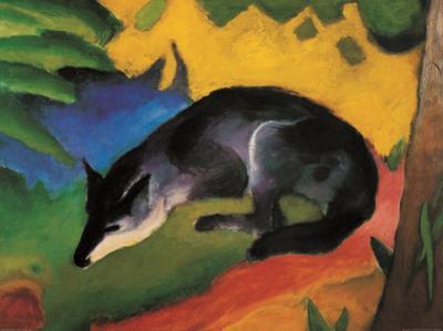 Fox, c.1913 by Franz Marc