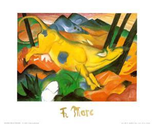 Gelbe Kuh, c.1911 by Franz Marc