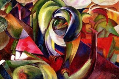 Mandrill, 1913 by Franz Marc