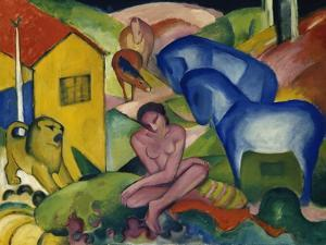 The Dream, 1912 by Franz Marc