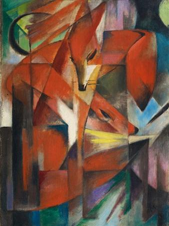 The Fox, c.1913 by Franz Marc