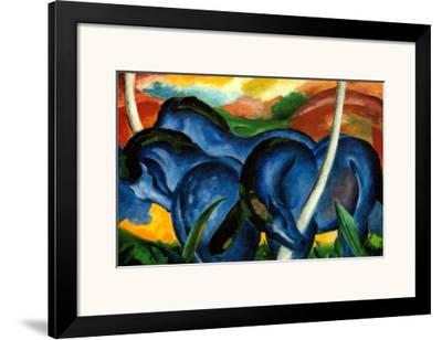 The Large Blue Horses, 1911 by Franz Marc