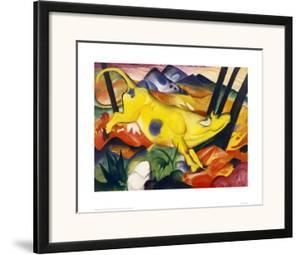 The Yellow Cow by Franz Marc
