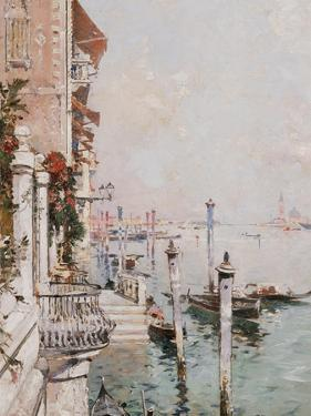 The Grand Canal, Venice by Franz Richard Unterberger
