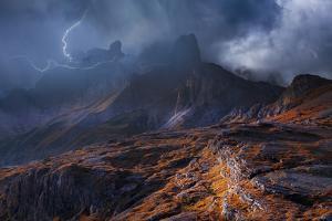 Bergwetter by Franz Schumacher