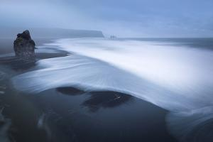 The Black Lava Beach of Vik by Franz Schumacher