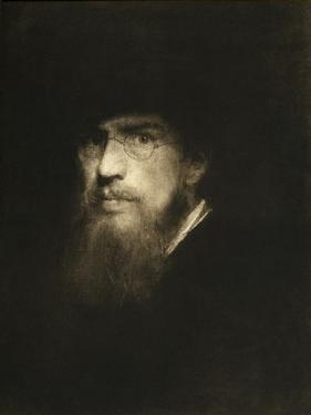 Franz Lenbach, self portrait by Franz Seraph von Lenbach