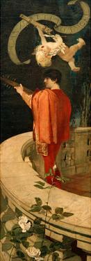 Canzonetta d'amore, 1887/88 by Franz von Stuck