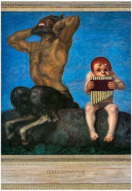 Franz von Stuck Dissonance Art Print Poster