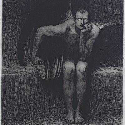 Lucifer by Franz von Stuck