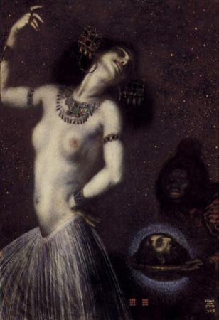Franz von Stuck (Salome) Art Poster Print