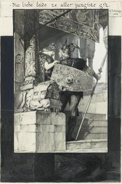 Sigfried and Kriemhild by Franz von Stuck