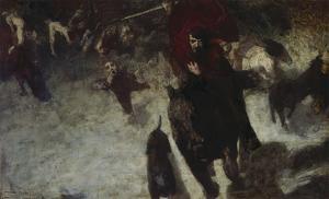 Wild Hunt, about 1889 by Franz von Stuck