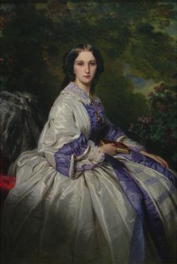 Countess Alexander Nikolaevitch Lamsdorff (Née Maria Ivanovna Beck, 1835–1866) by Franz Xaver Winterhalter