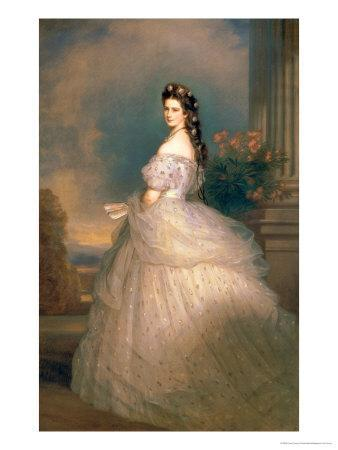 Elizabeth of Bavaria (1837-98), Empress of Austria, Wife of Emperor Franz Joseph (1830-1916)