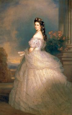 Elizabeth of Bavaria (1837-98), Empress of Austria, Wife of Emperor Franz Joseph (1830-1916) by Franz Xaver Winterhalter