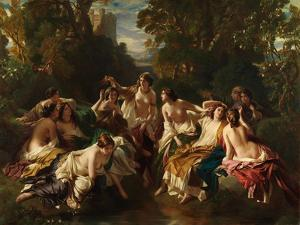 Florinda, 1853 by Franz Xaver Winterhalter