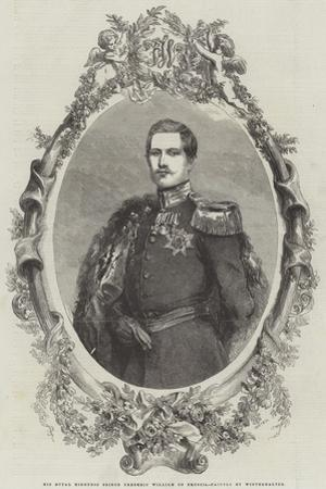 His Royal Highness Prince Frederic William of Prussia