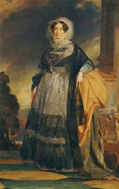 Madame Adelaide dOrleans (1777-1847) by Franz Xaver Winterhalter