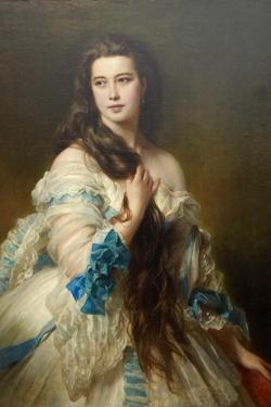 Nadezhda Nikolayevna Rimskaya-Korsakova Née Purgold, C. 1870 by Franz Xaver Winterhalter
